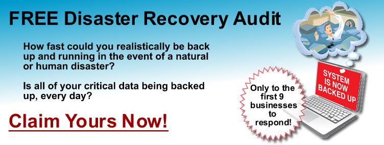 Free Disaster Recovery Audit (click for more inf)
